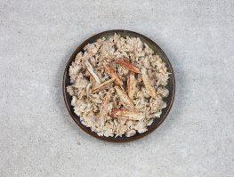 Chair de crabe nature