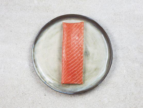 Cœur de saumon fumé