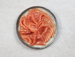 4/5 tranches de saumon fumé