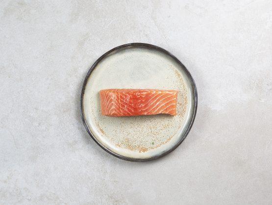 Un dos de saumon