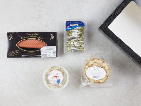 Box contenant des produits d'inspiration scandinave